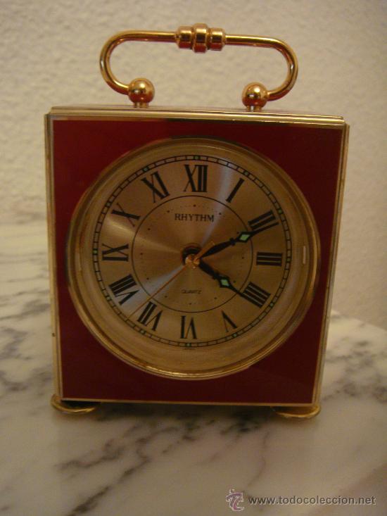 ANTIGUO RELOJ DE MESA. MARCA RYTHM (Relojes - Relojes Actuales - Otros)