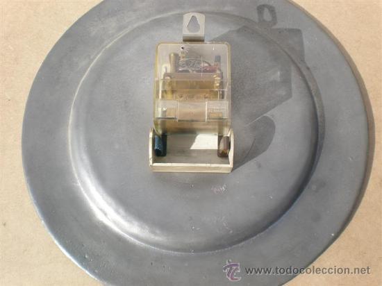 Relojes: reloj de pared automatico plato de estaño - Foto 3 - 23313756