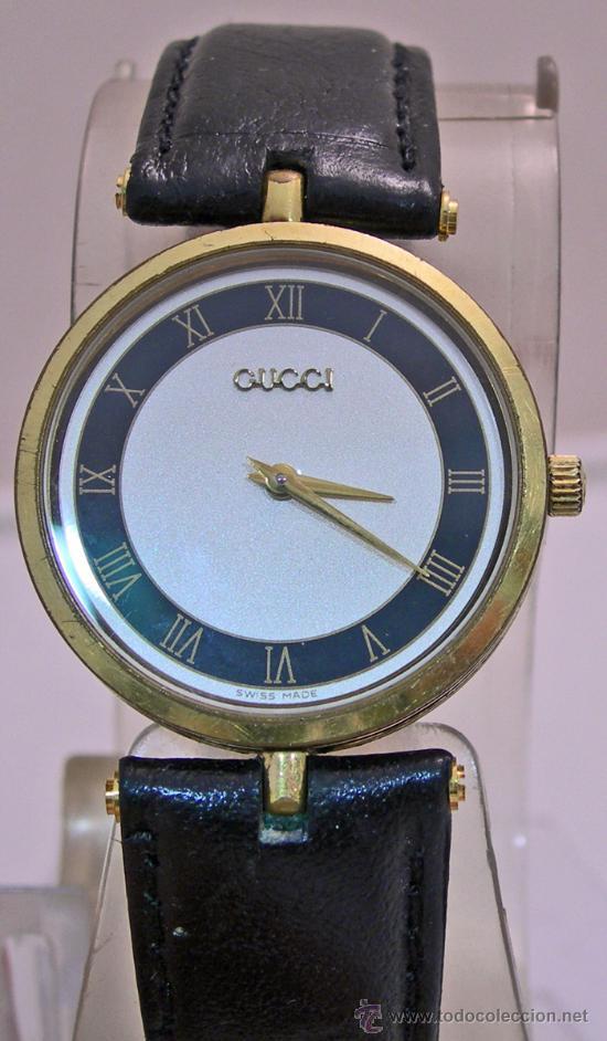 20b81ef8de8b1 VINTAGE GUCCI CALIBRE ETA 579.005 PRECIOSO (Relojes - Relojes Actuales -  Otros)