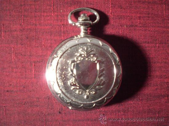 RE109 RELOJ DE BOLSILLO PAUL JARDIN - METAL CROMADO - QUARTZ - DESCONOCEMOS SI FUNCIONA (Relojes - Relojes Actuales - Otros)