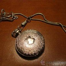 Relojes: RELOJ DE BOLSILLO DE LA MARCA DAKOTA CON CORREA DE ENGANCHE. Lote 26519973