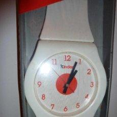 Relojes: RELOJ DE PARED LOGO KINDER. Lote 24926013