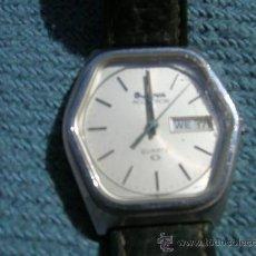 Relojes: RELOJ HEXAGONAL BULOVA ACCUTRON VER FOTOS. Lote 109351900