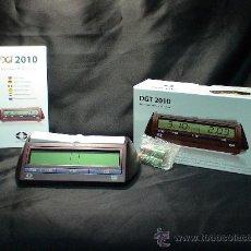 Relojes: CHESS. RELOJ DE AJEDREZ DIGITAL DGT 2010 ACTUALIZADO. Lote 232259665