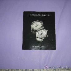 Relojes: MAURICE LACROIX. CATALOGO RELOJES MAURICE LACROIX NO VIGENTE.. Lote 28262834