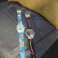 Relojes: LOTE 2 RELOJES PROMOCIONALES LA CAIXA. Lote 28325301