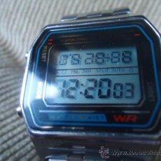 Relojes: RELOJ DE PULSERA DE CABALLERO DIGITAL, CRONOMETRO, DESPERTADOR, AÑOS 80. Lote 28771410