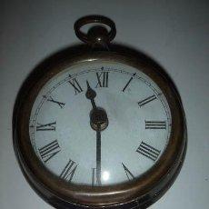 Relojes: RELOJ ANTIGUO PARA COLGAR, FUNCIONA CON PILAS.. Lote 29120536