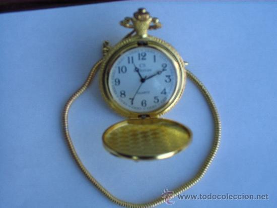 Relojes: PRECIOSO RELOJ DE BOLSILLO A PILAS - Foto 3 - 29327164