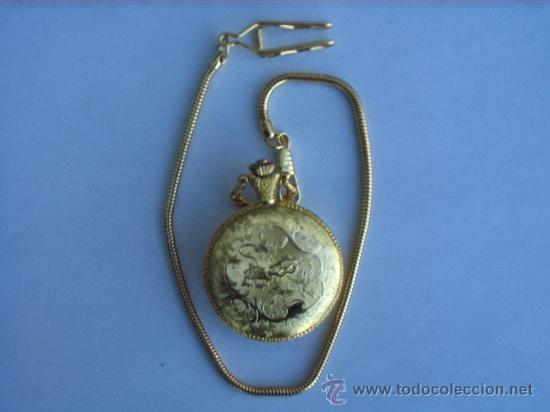 Relojes: PRECIOSO RELOJ DE BOLSILLO A PILAS - Foto 4 - 29327164