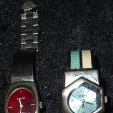 Relojes: LOTE DE 2 RELOJES TIPO ART DECO. MARCA LANCO Y JIEERSI. . Lote 29354562