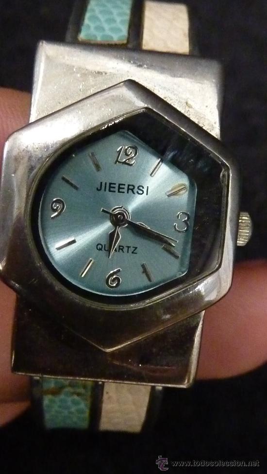 Relojes: Lote de 2 relojes tipo art deco. Marca Lanco y Jieersi. - Foto 4 - 29354562