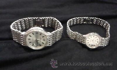 Relojes: Preciosa pareja de relojes para el y para ella de la marca GENEVA - Foto 2 - 29384106
