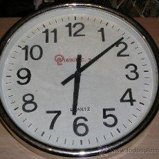 Relojes: GRAN RELOJ DE PARET DIAMETRO 37.5 CM. Lote 29394893