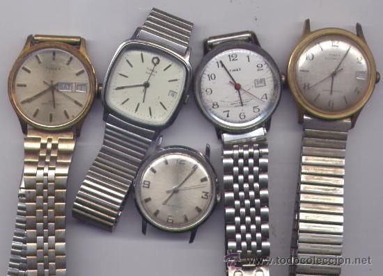 353a0e7a02da Lote de relojes timex de hombre antiguos . - - Sold at Auction ...