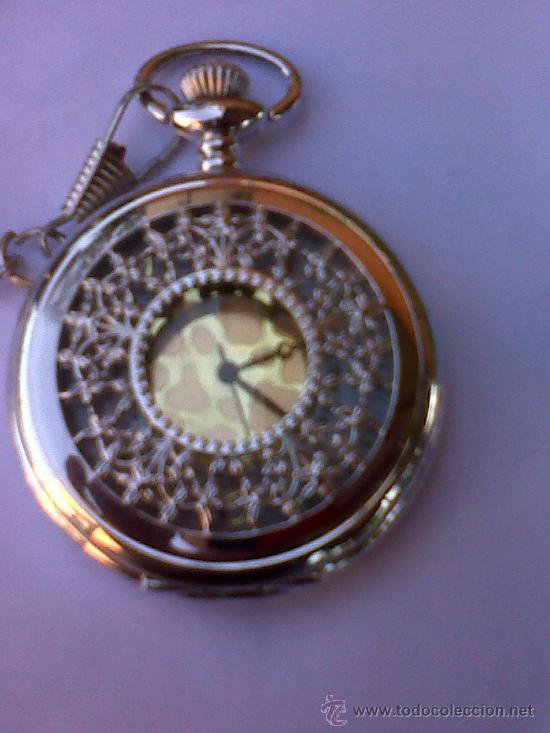 Relojes: PRECIOSO RELOJ DE BOLSILLO, A PILAS - Foto 2 - 29468725
