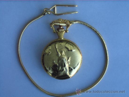PRECIOSO RELOJ DE BOLSILLO, A PILAS (Relojes - Relojes Actuales - Otros)