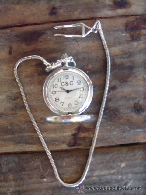 Relojes: PRECIOSO RELOJ DE BOLSILLO, A PILAS - Foto 3 - 29468830