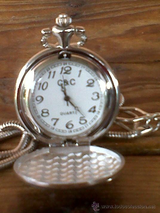 Relojes: PRECIOSO RELOJ DE BOLSILLO , A PILAS - Foto 4 - 29775453