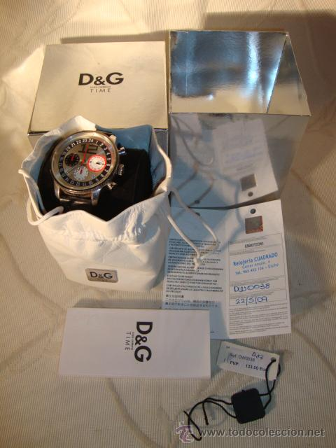 D&G DOLCE & GABBANA TIME WATCHES, RELOJ TODO ORIGINAL DE RELOJERÍA. (Relojes - Relojes Actuales - Otros)