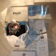 Relojes: D&G DOLCE & GABBANA TIME WATCHES, RELOJ TODO ORIGINAL DE RELOJERÍA.. Lote 30612572