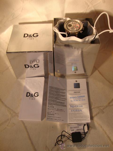 Relojes: D&G Dolce & Gabbana Time Watches, reloj Todo original de relojería. - Foto 4 - 30612572