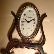 Relojes: RELOJ DE COLECCION AUTOMATICO CON FORMA DE ESPEJO DE TOCADOR. MARCA LE TEMPS, QUARTZ . Lote 30316005