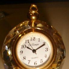 Relojes: RELOJ DE COLECCION AUTOMATICO DE METAL Y CRISTAL CON FORMA DE JAULA. MARCA LE TEMPS, QUARTZ . Lote 30353071