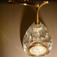 Relojes: RELOJ DE COLECCION AUTOMATICO DE METAL Y CRISTAL CON FORMA DE PERA. MARCA LE TEMPS, QUARTZ . Lote 30353096