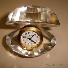 Relojes: RELOJ DE COLECCION AUTOMATICO DE METAL Y CRISTAL CON FORMA DE ALMEJA. MARCA LE TEMPS, QUARTZ . Lote 30353117