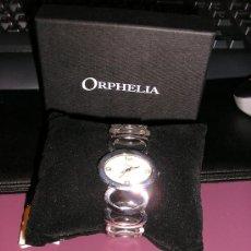 Relojes: RELOJ SEÑORA *ORPHELIA* -CORREA DE ACERO - QUARTZ. Lote 30590098