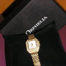 Relojes: RELOJ SEÑORA *ORPHELIA* -DORADO CON BRILLANTITOS- QUARTZ. Lote 30590402