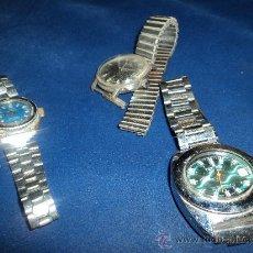 Relojes: LOTE DE TRES VIEJOS RELOJES.. Lote 31235253