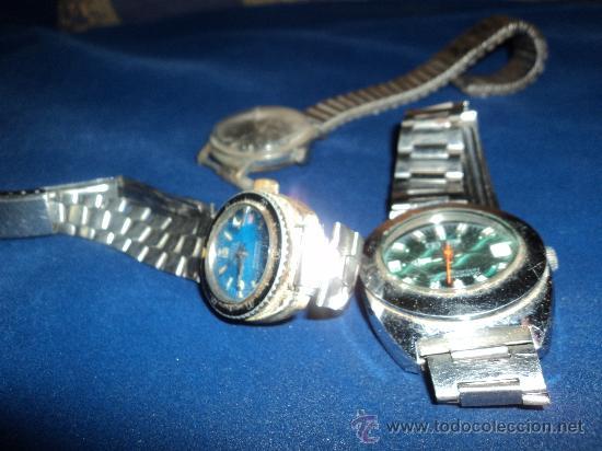 Relojes: LOTE DE TRES VIEJOS RELOJES. - Foto 4 - 31235253