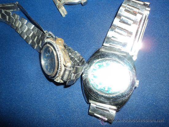 Relojes: LOTE DE TRES VIEJOS RELOJES. - Foto 3 - 31235253