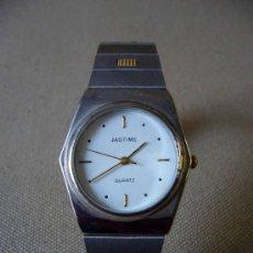 Relojes: RELOJ PULSERA, CABALLERO, MARCA JAGTIME, A BATERIA, DE ACERO INOXIDABLE. Lote 32331547