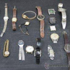 Orologi: GRAN LOTE DE RELOJES ANTIGUOS. DESCONOZCO DEL TEMA... VER FOTOS.. Lote 32456355