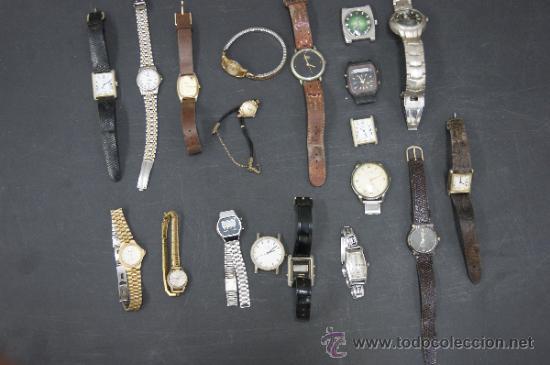 Relojes: Gran lote de relojes antiguos. desconozco del tema... ver fotos. - Foto 2 - 32456355