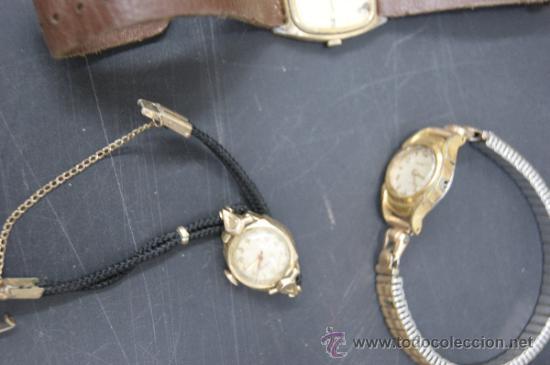 Relojes: Gran lote de relojes antiguos. desconozco del tema... ver fotos. - Foto 4 - 32456355