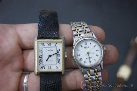 Relojes: Gran lote de relojes antiguos. desconozco del tema... ver fotos. - Foto 5 - 32456355