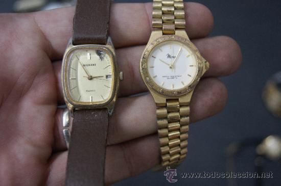 Relojes: Gran lote de relojes antiguos. desconozco del tema... ver fotos. - Foto 6 - 32456355
