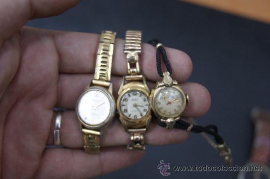 Relojes: Gran lote de relojes antiguos. desconozco del tema... ver fotos. - Foto 7 - 32456355