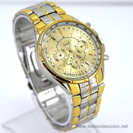presentación tecnologías sofisticadas producto caliente Reloj de pulsera para hombre- cuarzo - cadena a - Vendido en ...