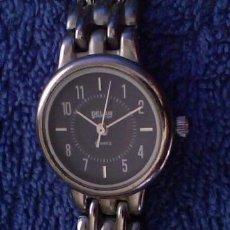 Relojes: RELOJ DE MUJER METALICO MARCA DELAN - FUNCIONANDO. Lote 33640638