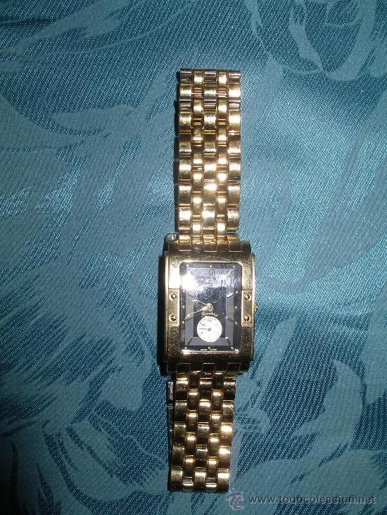 reloj jaguar j-603 friendship chapado en oro 18 - sold through