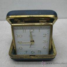 Relojes: ANTIGUO RELOJ FABRICADO EN ALEMANIA CON CAJA DE COLOR AZUL. Lote 33998878