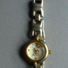 Relojes: RELOJ DE MICKEY MOUSSE EXCLUSIVO DE DISNEY STORE ORIGINAL 3 ATM JAPAN WATER RESISTANT COMO NUEVO. Lote 34065497