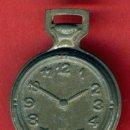 Relojes: PITO DE METAL EN FORMA DE RELOJ DE PULSERA, ANTIGUO JUGUETE , ORIGINAL,. Lote 34649132