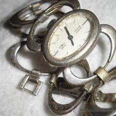 Relojes: RELOJ SEÑORA ANTIGUO DE PULSERA A CUERDA CARGA MANUAL ROBIS PARIS 17. Lote 36201350