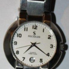 Relojes: RELOJ SUIZO SECULUS QUARTZ CASI NUEVO . Lote 36617618
